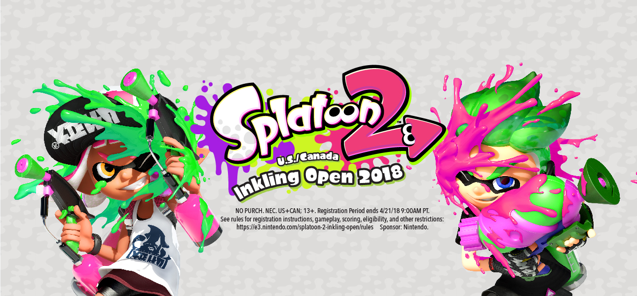 SPLATOON 2 U S /CANADA INKLING OPEN 2018 by Splatoon2