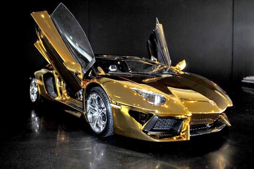 Gold Wallpaper Diamond Lamborghini